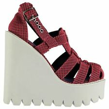 Womens Casual Wedges Jeffrey Campbell JD0242 Wedged Shoes New