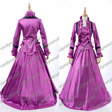 Civil War Victorian Downton Abbey Period 2PC Dress Gown Theatrical Costume