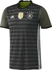 GERMANY AWAY 2016 (XL, L, M) S/SL ADIDAS GREEN FOOTBALL SOCCER SHIRT JERSEY BNWT
