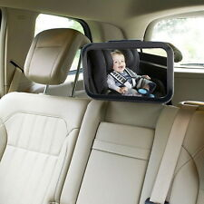 Car Safety Easy View Back Seat Suction Mirror Baby Child Care Rear Lot KG