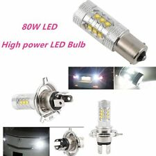 White 80W 1156 BA15S 16LED Car Tail Turn Reverse Light Bulb Lamps Light~JX