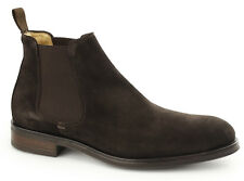 John White Portchester Brown Suede  Mens Leather Chelsea Boots