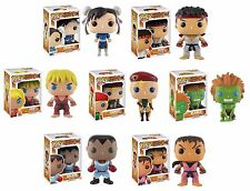 Street Fighter Series 1 Funko Pop Chun-Li, Ryu, Ken, Cammy, Blanka, Balrog (1pc)