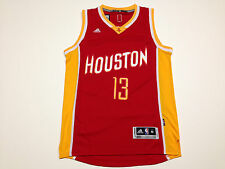 Men's NBA Houston Rockets James Harden #13 Adidas Red Yellow Swingman Jersey