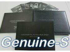OEM 2009 Bentley Continental Flying Spur Speed Owners Manual Set Owner's Manual