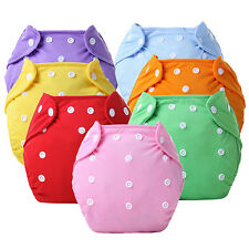 Reusable Baby Infant Nappy Dotted Cloth Washable Diapers Soft Covers Beamy