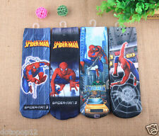 Lot Spider-man Kids Socks 3 Size Cotton Warm winter Knee-Highs socks C492