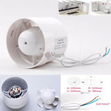 """4""""6"""" Inch Duct Booster Inline Blower Fan Cooling Exhaust Blower Air Cooling Vent"""