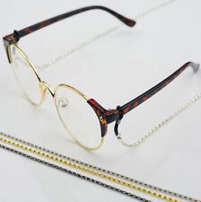 Sunglasses Reading Neck Glasses Holder Cord Spectacles Color  Metal Strap Chain