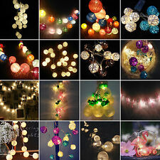 Battery Operated Fairy Lights String LED Christmas Party Wedding Xmas Patio Lamp