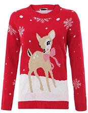 M10 NEW KIDS UNISEX GIRLS BOYS NOVELTY CHRISTMAS JUMPER XMAS