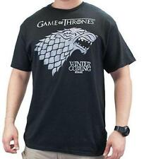 "Game Of Thrones STARK DIREWOLF SIGIL ""WINTER IS COMING"" T-Shirt NWT Licensed"