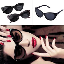Women Ladies Cat Eye Retro Vintage Style Rockabilly Sunglasses Eye Glasses KG