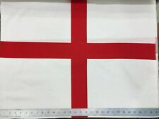 St Georges England Printed Flag White with Red Cross -Rugby Football