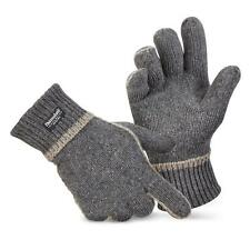 Thinsulate Gloves Wool gloves Knitted gloves Winter Fleece lined 3M