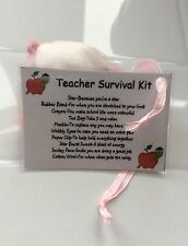 Teacher Novelty Survival Kit Keepsake Gift Birthday Christmas Present