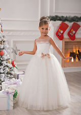 Flower Girl Dress Party bridesmaid ball prom pageant christmas wedding festival