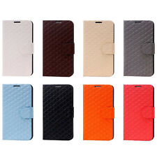 Diamond Pattern Leather Skin Case Cover Protector For Samsung Galaxy Note 2 II