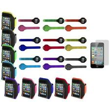 Gym Sports Armband Case Cover+3X LCD Protector for iPod Touch 4th 3rd 2nd Gen