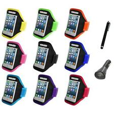 For iPod Touch 5th Gen 5G 5 Full Running Sports Gym Armband Case+Charger+Pen