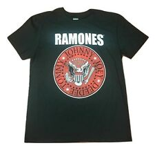 Ramones Presidential Seal Logo Hey Ho Black Red T-Shirt S-L Licensed & Authentic