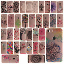 For iPhone 6 7 Luxury Pattern Soft Gel TPU IMD Rubber Protective Back Case Cover