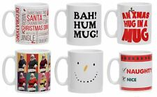 Christmas Snowman Mug Colour Funny Festive Novelty Naughty Text Gifts Mugs
