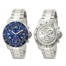 Invicta Specialty  Chronograph Silver/Blue Dial  Mens Watch