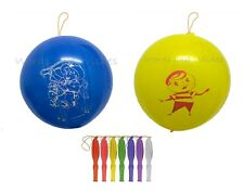 """BOYS 16"""" Quality Large Punch Balloons Kids Party Bag Filler Toy Reward Prize"""