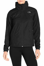 The North Face Resolve Plus Hooded Waterproof Black Jacket Size XS, S, L NWT
