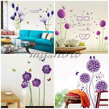 Removable Family Flower DIY Art Vinyl Wall Stickers Decal Mural Home Decor Room