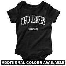 New Jersey Represent One Piece - Baby Infant Creeper Romper NB-24M - NJ Devils