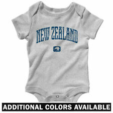 New Zealand One Piece - Baby Infant Creeper Romper NB-24M - All Blacks Fan Gift