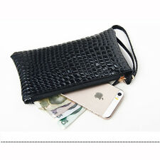 1pc Women Lady PU Leather Clutch Wallet Long Card Holder Purse Handbag Bag Gifts
