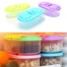 Plastic Kitchen Container Fresh Fruit Food Snacks Storage Sauce Box Food Case AU