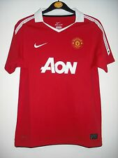 BNWT The Official (NIKE) Home Manchester United Football Shirt Age 8-13 Years