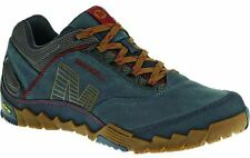Merrell Annex. Men`s Leather Hiking / Walking Trainers.Blue-wing. Size -13.14.