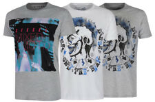 Men's Diesel Crew Neck T-Shirt Brave Carnival / Mixed Emotions Grey White £40