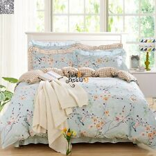 100% Cotton Duvet Cover/Quilt Cover Twin Full Queen King Size Bedding Set Floral