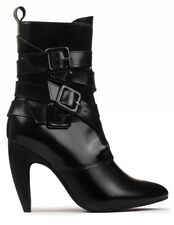 New Size 10-Women's Stiletto Boot with Multi-straps-Black-Jeffrey Campbell