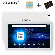 XGODY 10.1 INCH ANDROID TABLET PC OCTA CORE 16GB/32GB 2CAMERA HD IPS WIFI 10.6''