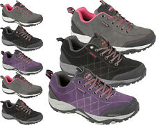 LADIES HIKING BOOTS WOMENS GIRLS TRAIL TREK WALKING LACE UP TRAINERS SHOES SIZE