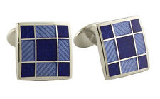 Donahue Sterling Silver Squares Cufflinks