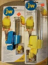 JW INSIGHT CLEAN SEED SILO BIRD FEEDER ATTACHES TO CAGE BRAND NEW 50% OFF SALE
