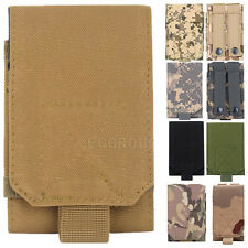 Universal Small Army Camo Bag For Cell Phone Hook Loop Belt Pouch Holster Case