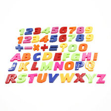 New Set Of Colorful Teaching Magnetic Letters & Numbers Fridge Magnets Alphabet