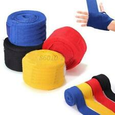 1 Pair Boxing Hand Wraps Gloves Bandages Wrist Fight Protecting Fist Punching UK