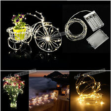 2-4M LED Micro Wire String Fairy Party Wedding Festival Wedding Light Decor UK