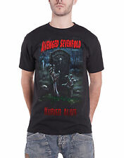 Avenged Sevenfold T Shirt Buried Alive Tour 2012 new Official Mens Black
