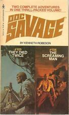 DOC SAVAGE #105/106, They Died Twice/ The Screaming Man by Kenneth Robeson